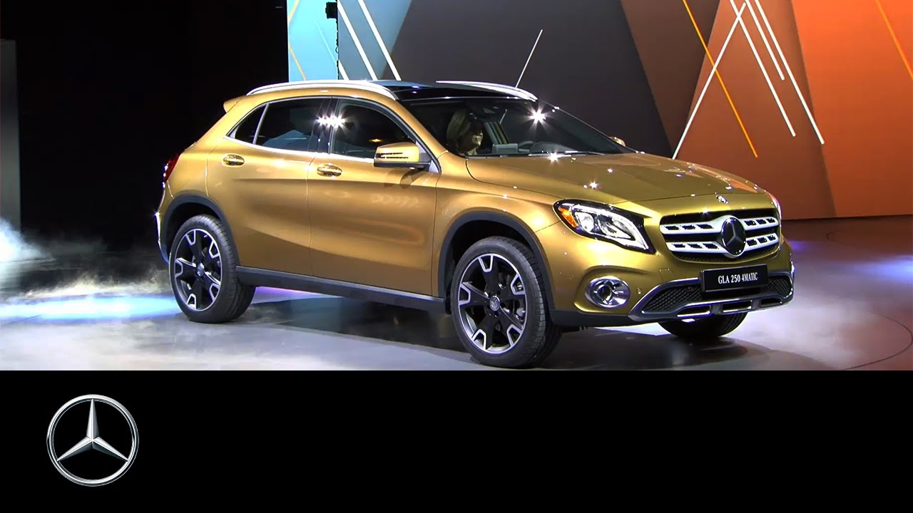 Mercedes benz at naias 2017 new gla revealed mercedes for New mercedes benz gla