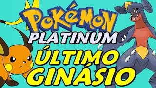 Pokémon Platinum (Detonado - Parte 25) - O Último Ginásio, HM Waterfall e Garchomp
