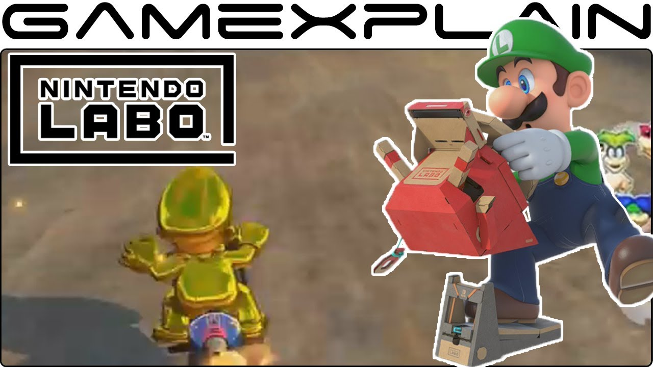 Testing Out the Labo Vehicle Kit in Mario Kart 8 Deluxe (New Update)
