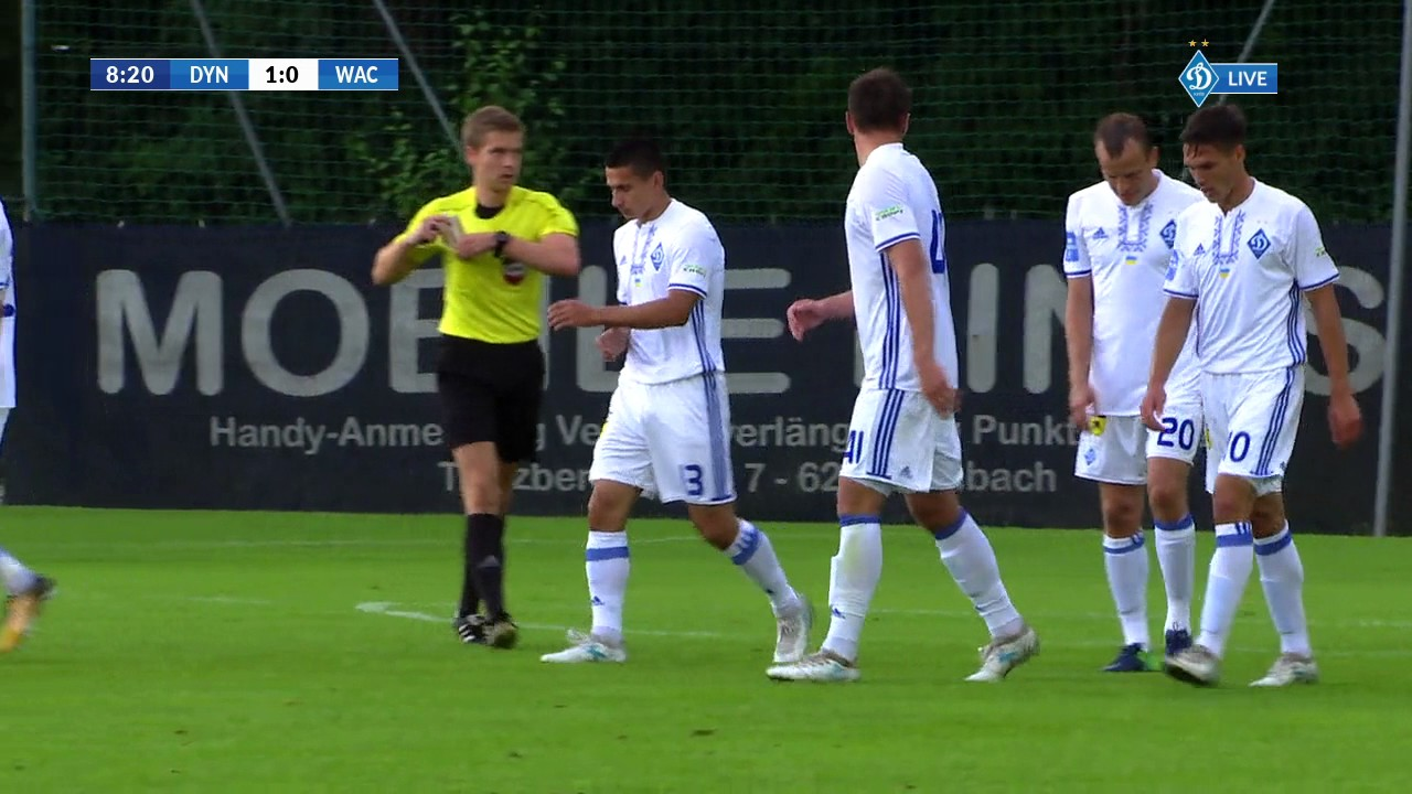 Динамо Киев - Ваккер Инсбрук 3:0 видео