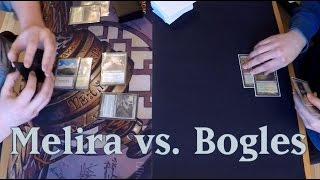 MtG - Melira Company vs. GW Auras Gameplay (Modern RLGP) [Deutsch]