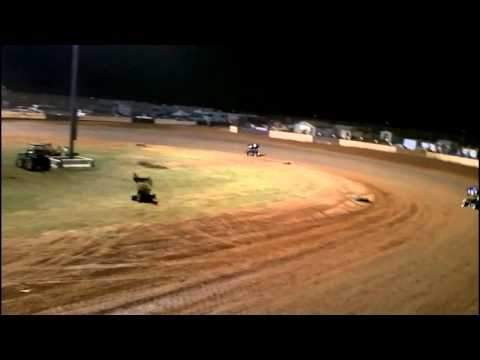 USCS Mini Sprint Feature At Albany Motor Speedway