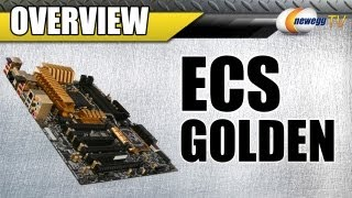 Newegg TV_ ECS Golden LGA 1155 Intel Z77 ATX Motherboard Overview