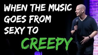 Comedian Darren Carter - When The Music Goes from Funny to Sexy to Creepy