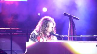 Angel (intro) + Dream On - Aerosmith live in Milan on June 25, 2014