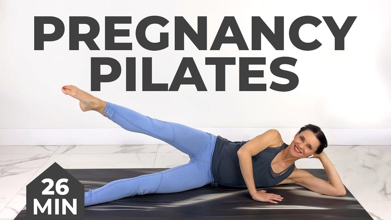 Pregnancy Pilates For Back Pain & Sciatica (Pregnancy Back Pain Relief/Sciatica Relief)
