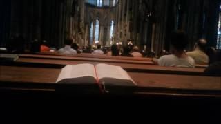 Католическая воскресная служба в Германии | Кёльнский собор(, 2016-09-14T09:09:01.000Z)