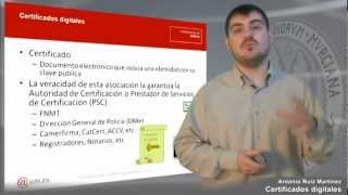 Certificados digitales Parte 1