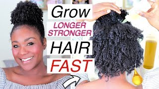 4C NATURAL HAIR TIPS that ACTUALLY Works - Hair Growth OILS I Natural Hair Journey
