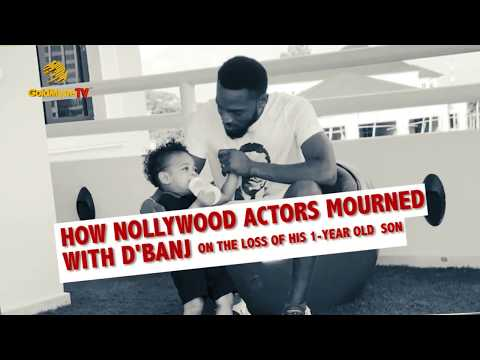 HOW NOLLYWOOD ACTORS MOURN WITH D'BANJ ON THE LOSS OF HIS 1 YEAR OLD SON
