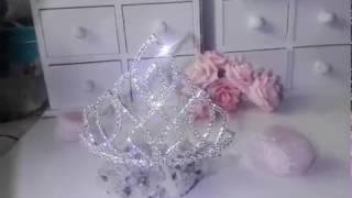 Тиара за коса с белгийски кристали- Beauty of Life