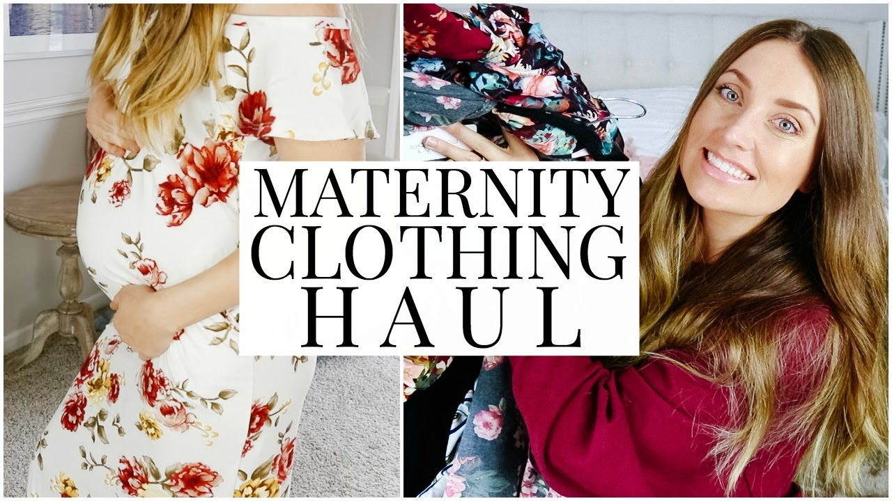 d64a7e175c3b6 Maternity Clothing Try-On Haul: Mother Bee Maternity | Kendra Atkins ...