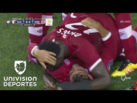 Alphonso Davies sentencia el partido al marcar el cuarto gol para Canadá