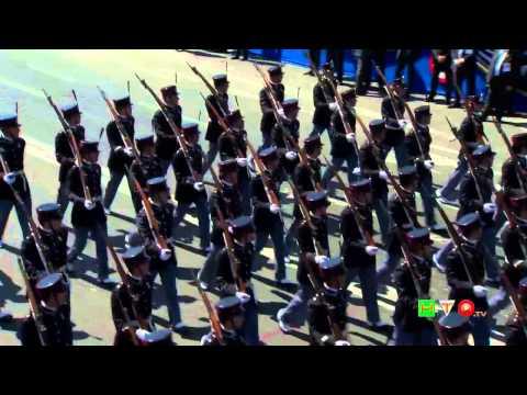 LXVIII Festa della Repubblica - Rivista Militare su Via dei Fori Imperiali - www.HTO.tv