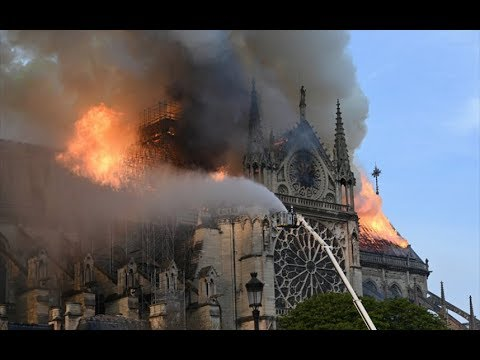 Watch how the Notre-Dame cathedral fire unfolded