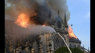 video: Emmanuel Macron approves plan to restore Notre-Dame's spire to former glory
