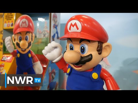 Nintendo Toys By Jakks Pacific Including Talking Super Mario (Toy Fair 2020)