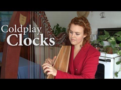 Clocks - Coldplay HARP (Christy-Lyn)