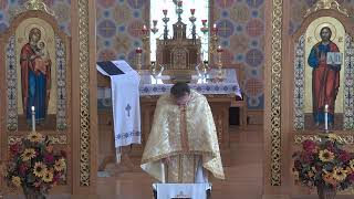 (UKR) Oct 11 Divine Liturgy