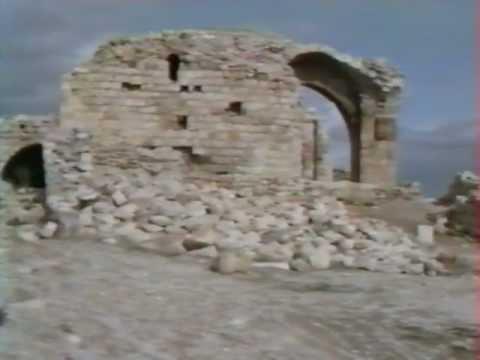 Montreal  castle/Shoubak (Jordanie / Jordan / الأردن) in 1991