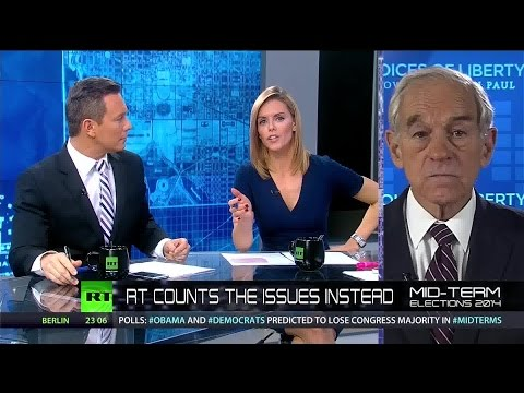 Ron Paul: US elections are a one-party monopoly