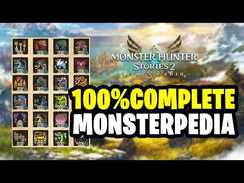 Monster Hunter Stories 2 – Monsterpedia Master (Complete Monsterpedia)  
