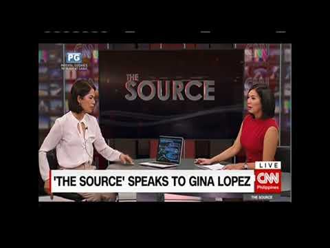 Former Environment Sec. Gina Lopez : open-pit mines in the Philippines