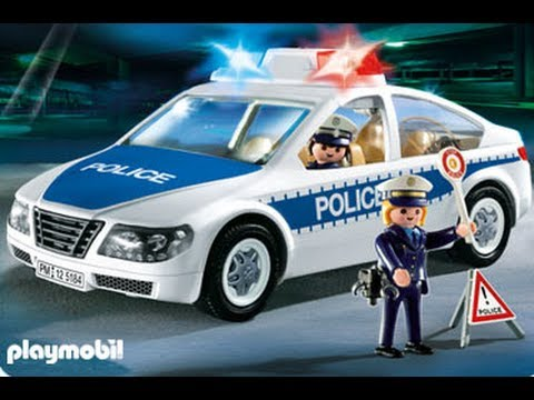 playmobil police voiture car youtube. Black Bedroom Furniture Sets. Home Design Ideas