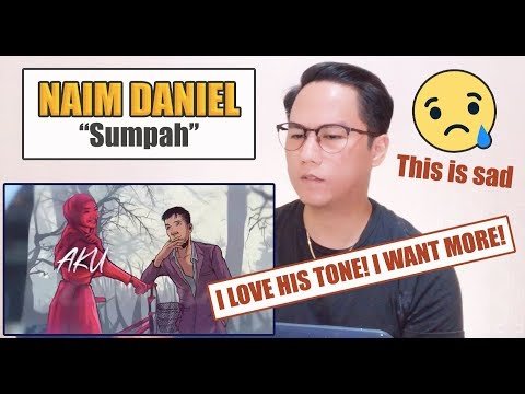 Free Download Naim Daniel - Sumpah | Singer Reacts Mp3 dan Mp4