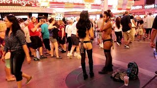 Freak Show on Fremont Street  Las Vegas