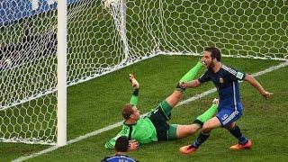 El Gol mas gritado que no fue  Argentina vs Alemania Final