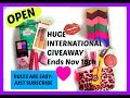Internatonal Makeup Giveaway (Closed)