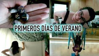 PRIMEROS DÍAS DE VERANO · Weekly Vlog | Christine Hug