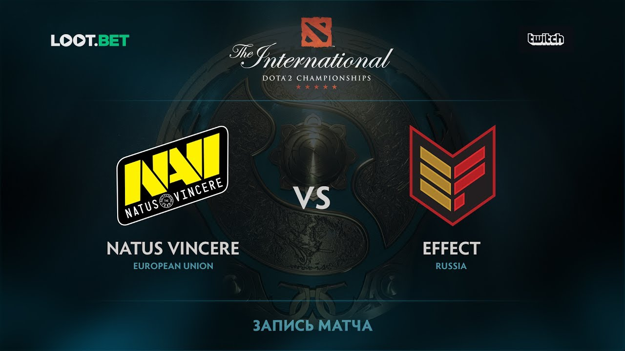 Natus Vincere vs Effect, The International 2017 CIS Qualifier