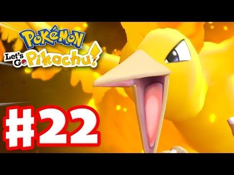 Legendary Pokemon Moltres! - Pokemon Let's Go Pikachu and Eevee - Gameplay Walkthrough Part 22 thumbnail