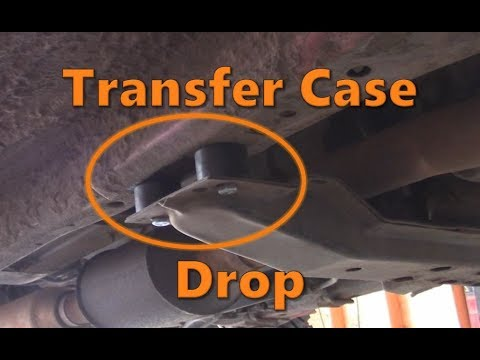 How To Install A Transfer Case Drop Youtube