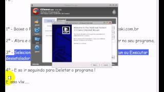 Como desistalar um programa completamente do PC