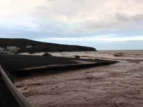 Unwetter auf Fuerteventura