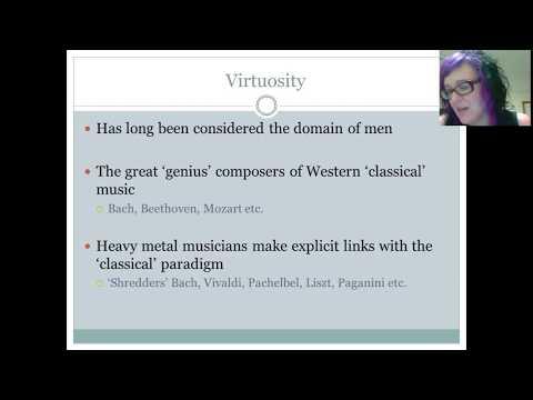 Heavy Metal Part 2: Virtuosity and Gender