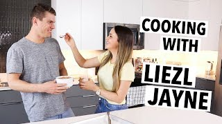 COOKING WITH LIEZL JAYNE (ft. My Husband!)   Quick Healthy Treat Ideas Ep.2