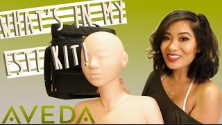 What's In My Aveda Esti Kit - Aveda Institute Las Vegas(Hello YOUTUBE FAM ! I know I said that my Cut Crease Makeup Tutorial: https://www.youtube.com/watch?v=x8jZnxs9lsE would be my last & only video of ..., 2015-12-15T08:54:30.000Z)