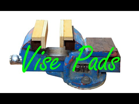 A great workshop idea to turn an Engineer's vise into a woodworking vise