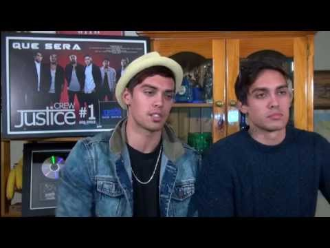 Interview with the twins from Justice Crew