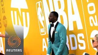 Basketball legends, celebrities attend first NBA Awards