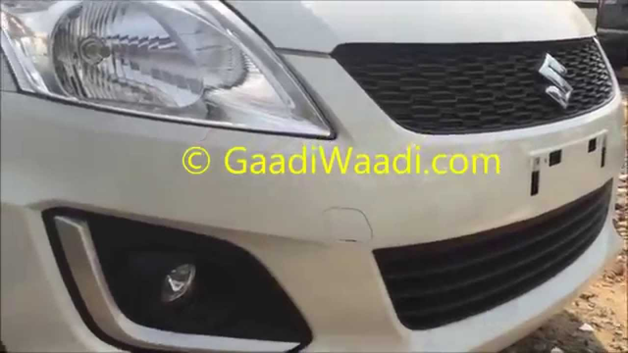 Maruti Swift facelift 2015 ( VDi Vxi ) Walk-around