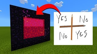 How To Make A Portal To The Charlie Charlie Dimension in Minecraft!