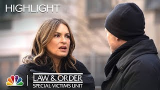 Benson Gives Cassidy Strength - Law & Order: SVU (Episode Highlight)