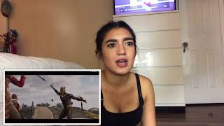 Black Panther Trailer Reaction   pricilla reacts