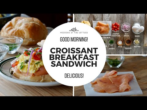 Croissant Breakfast Sandwich | Easy and Delicious!