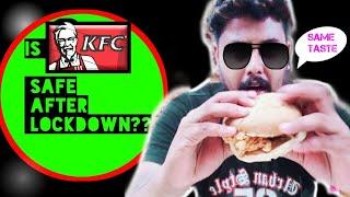 Is KFC Safe after Lockdown❓❓|KFC South City Mall|KFC Combo Offer|Sanitized or Not❓❓